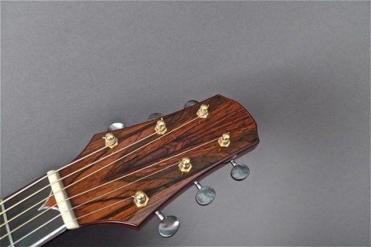 Bookmatched Brazilian Rosewood Headplate None Inlay