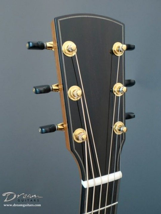Bound Headstock