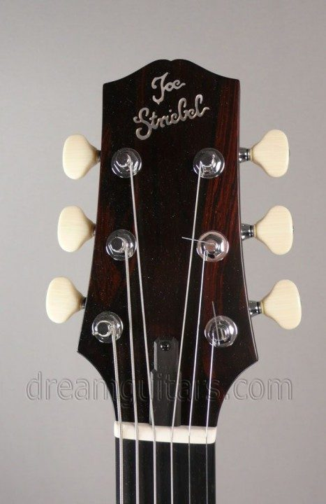 Streibel Logo on Brazilian Rosewood Headplate