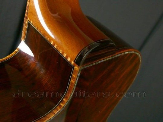 Flamed Koa Bindings