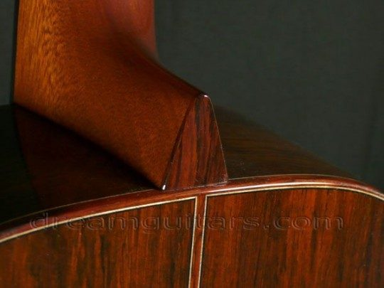 Brazilian Rosewood Heelcap and Bindings