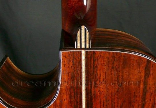 Ebony with Bevels on Front and Back