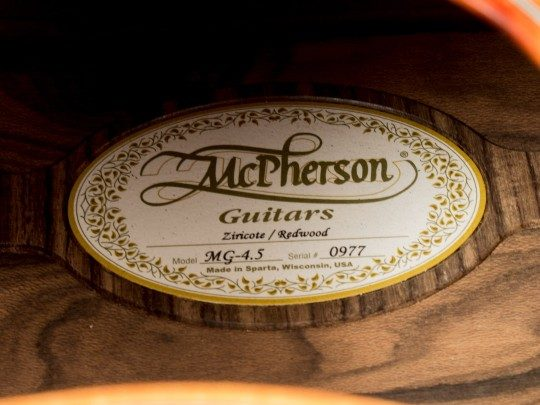 McPherson MG-4.5 Acoustic Guitar