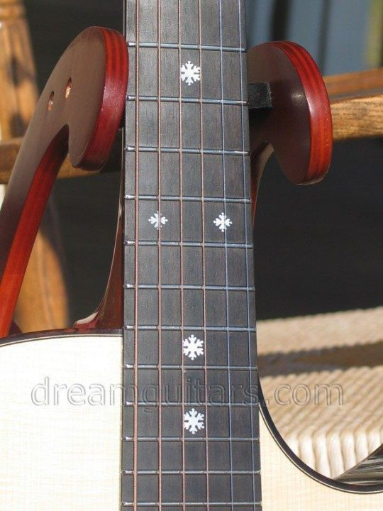 Snowflake Fret Markers