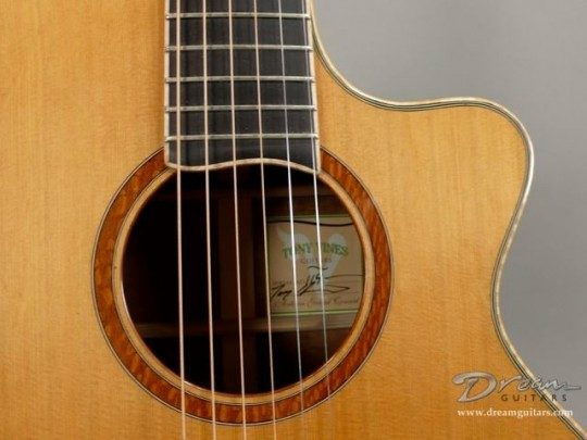 Tony Vines Guitars Artisan Acoustic Guitar