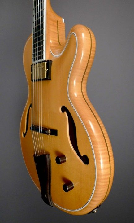 Beauregard MB Archtop Guitar