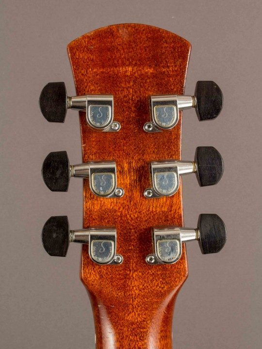 Schaller Nickel With Ebony Buttons Tuners
