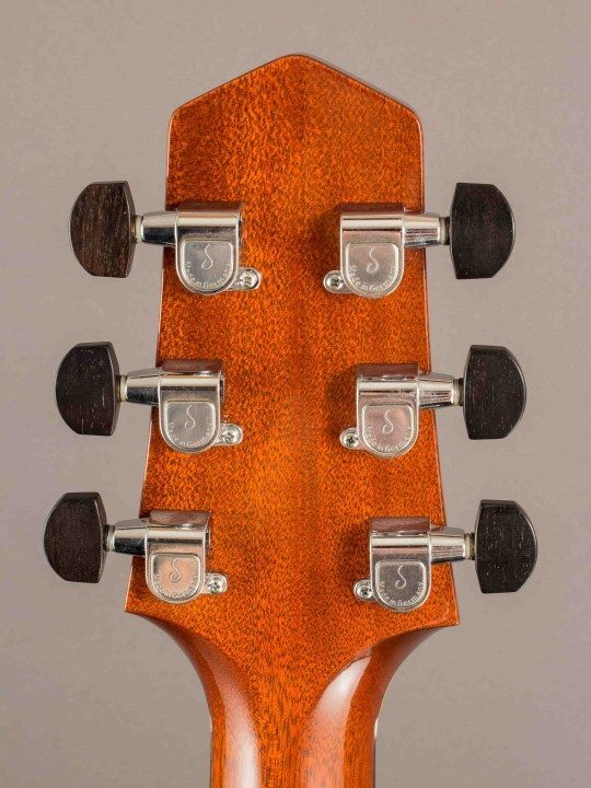 Schaller Nickel Tuners With Ebony Buttons