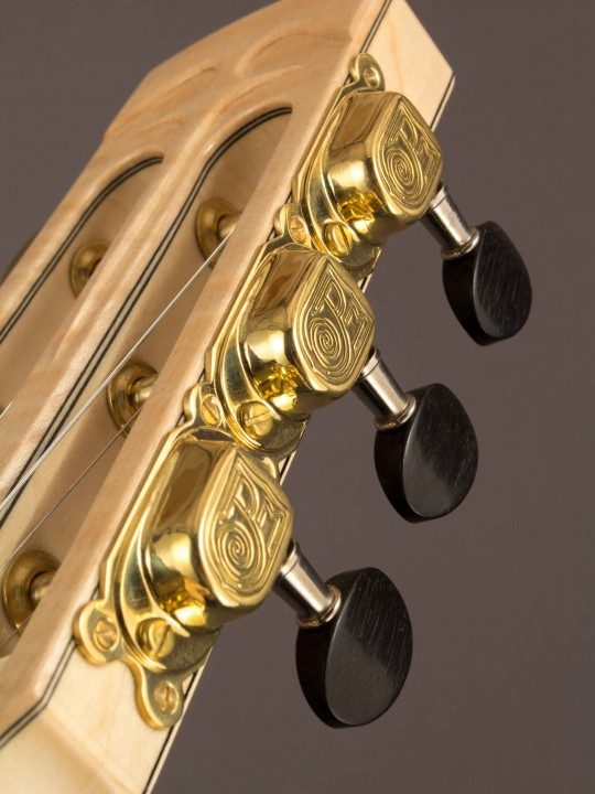 Miller - Swiss Handmade Brass Tuners With Ebony Buttons