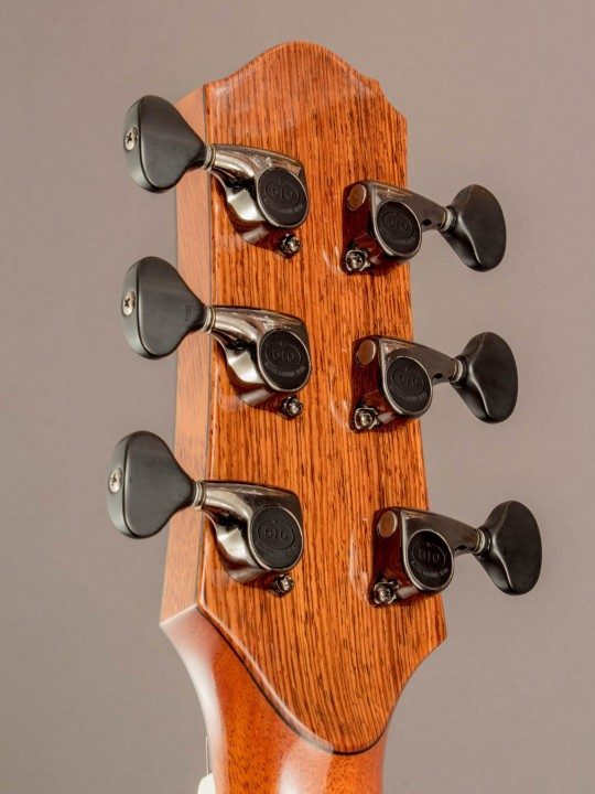 Gotoh 510 Black Chrome Tuners With Ebony Buttons