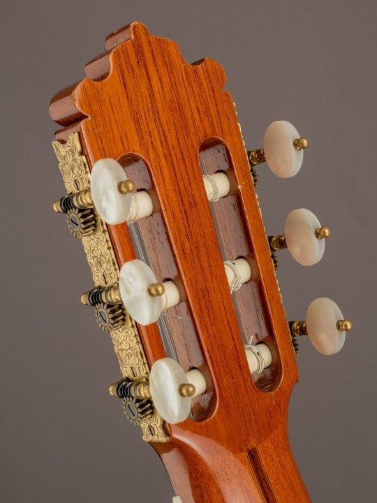 Gold Etched Tuners With Pearloid Buttons
