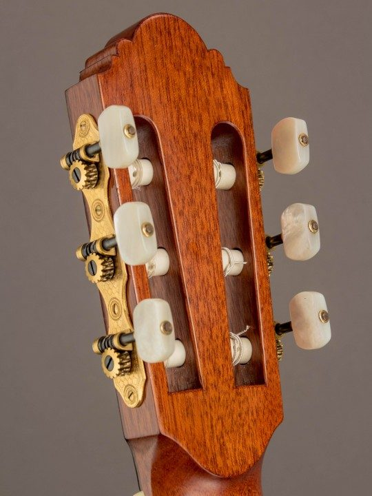 Gold Tuners With Pearloid Buttons