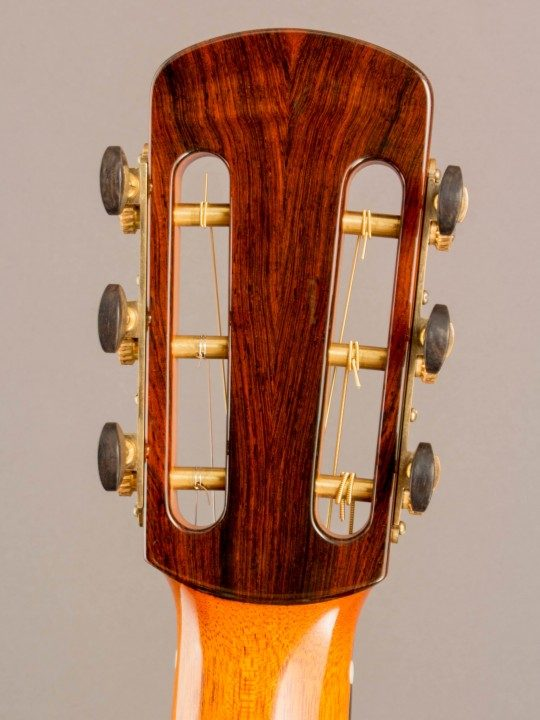 Sloane Gold With Ebony Buttons Tuners