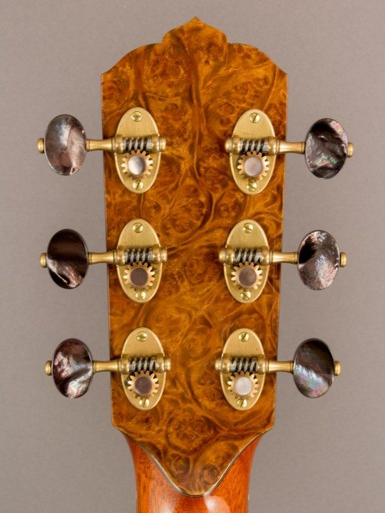 Rodger Gold Tuners With Pearl Buttons