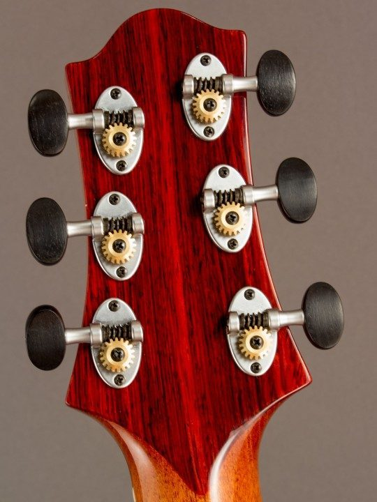 Schertler Nickel Tuners With Ebony Buttons