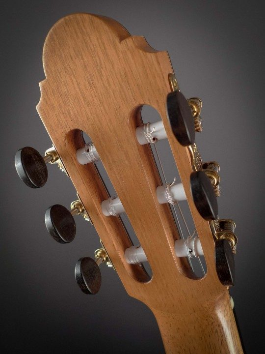 Sloane Gold Tuners With Ebony Buttons