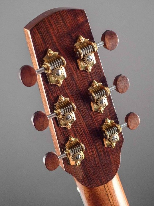 Waverly Gold Tuners With Snakewood Buttons