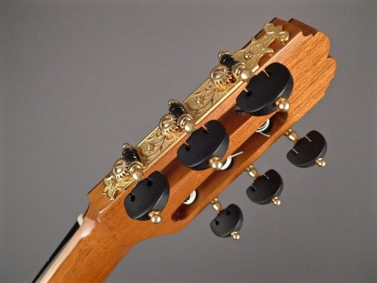 Gotoh Rodgers Style Gold Tuners With Ebony Buttons