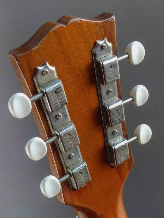 Kluson Nickel Tuners With Ivoroid Buttons