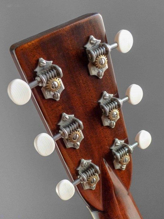 Waverly Nickel Tuners With Ivoroid Buttons