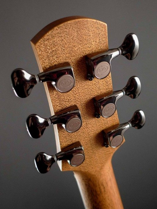 Gotoh 510 Cosmo Black Tuners