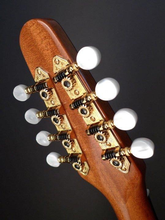 Hipshot Gold Tuners With Pearloid Buttons