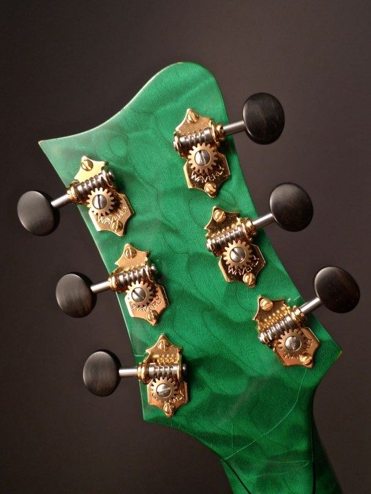 Waverly Gold Tuners With Ebony Buttons
