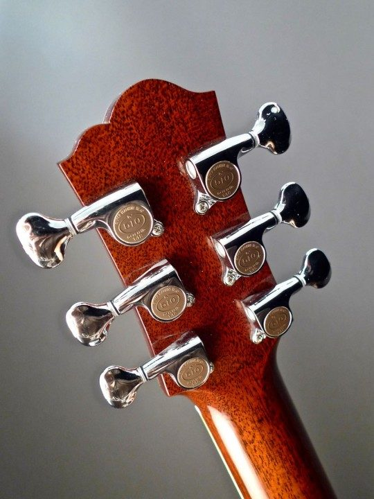 Gotoh 510 Mini Chrome Tuners