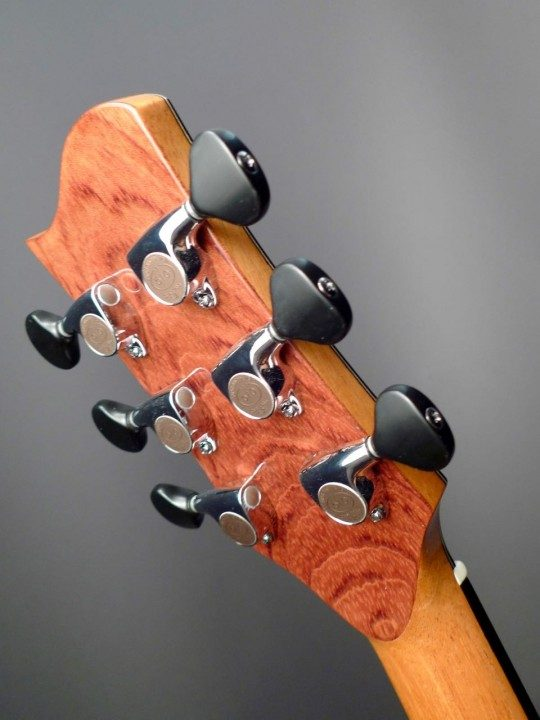 Gotoh 510 Chrome Tuners With Ebony Buttons
