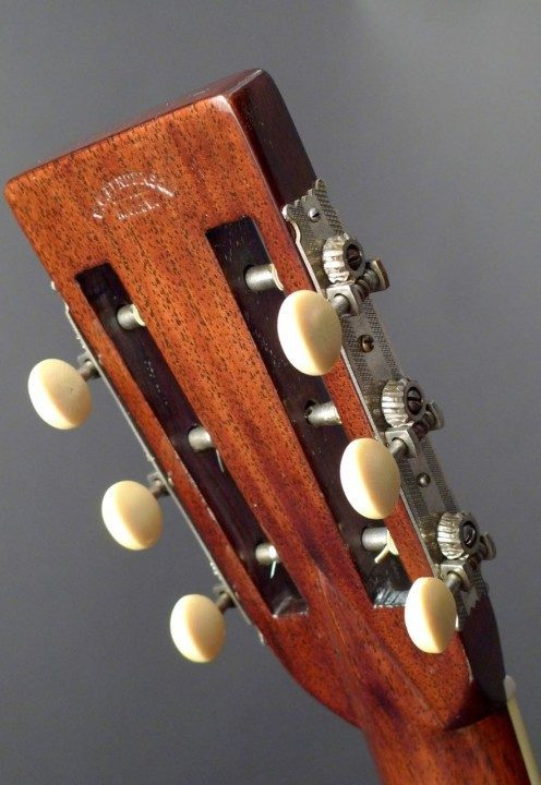 Nickel Open-Geared Tuners with Ivoroid Buttons
