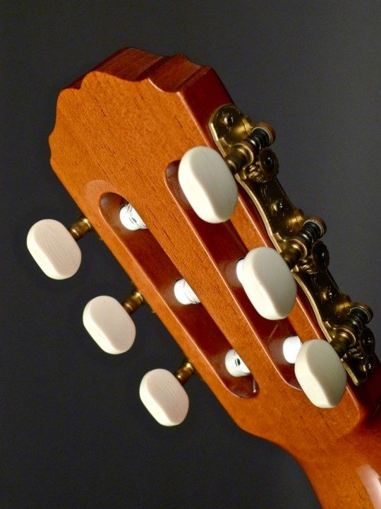 Vangent Gold Etched Tuners With Ivoroid Buttons