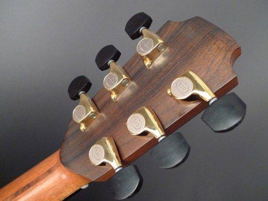 Gotoh 510 Gold Tuners With Ebony Buttons