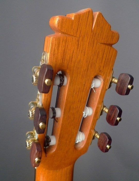 Fustero Gold With Rosewood Buttons
