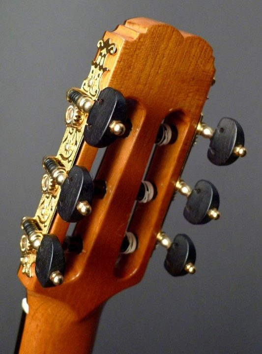 Rodger Style Gold Tuners With Ebony Buttons