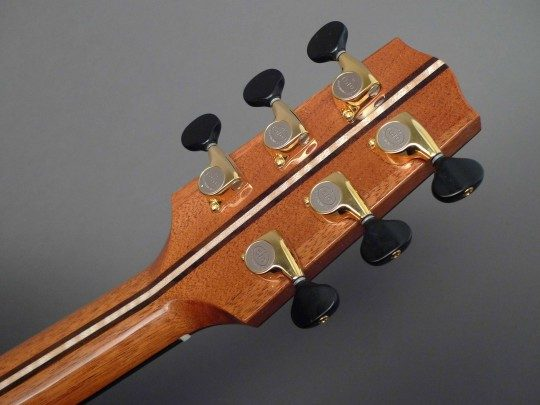 Gotoh 510 Gold With Black Buttons Tuners