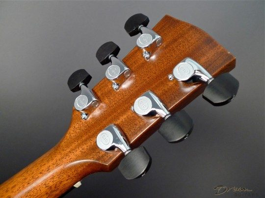 Gotoh 510 Tuners, Chrome With Ebony Buttons
