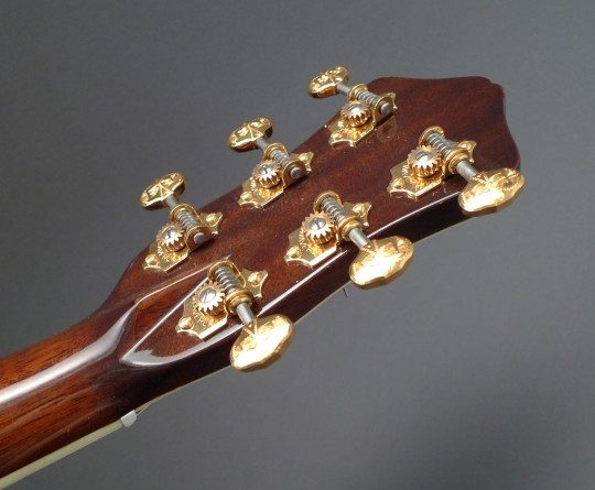 Waverly Gold Etched Tuners