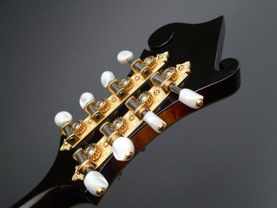 Waverly Gold With Pearloid Buttons Tuners