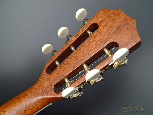 Taylor slot head individual tuners (not on a plate) made by Ping Antique Gold wih Ivoroid Buttons Tuners