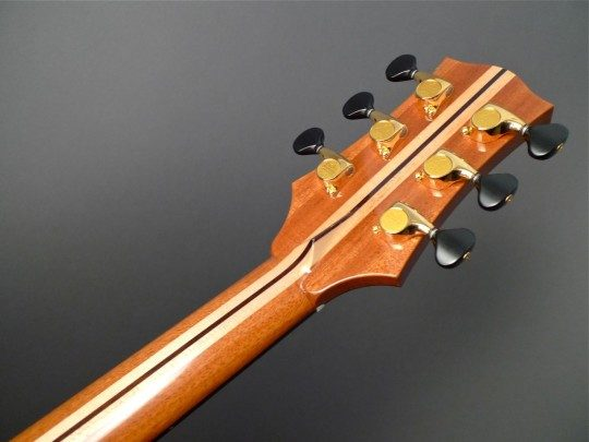 Gotoh 510 Delta Series Gold With Ebony Buttons Tuners