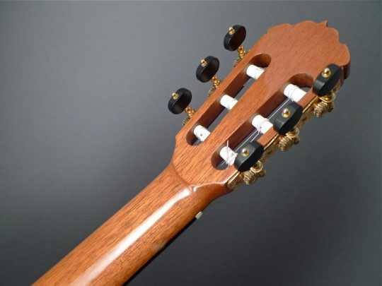 Rodger Style Gotohs Gold With Ebony Buttons Tuners
