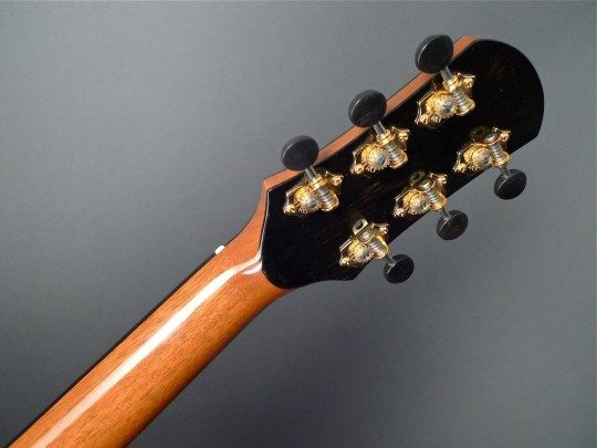 Waverly Gold Etched With Ebony Buttons Tuners