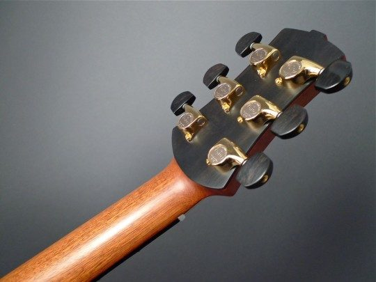 Gotoh 510s Gold Etched With Ebony Buttons Tuners