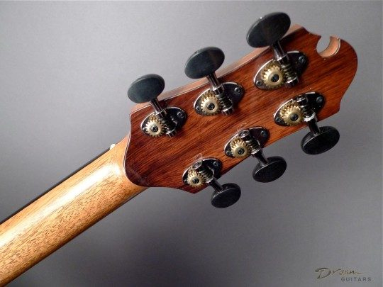 Schertler Black Chrome Tuners With Ebony Buttons