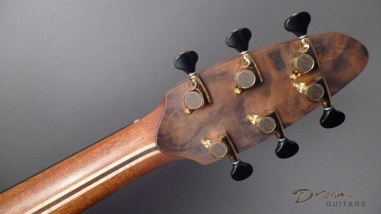 Gotoh 510 Mini Gold With Black Buttons Tuners