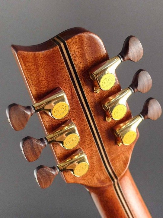Gotoh 510 Gold Tuners With Rosewood Buttons