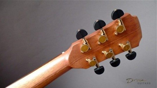 Gotoh SG381 Gold With Ebony Buttons Tuners
