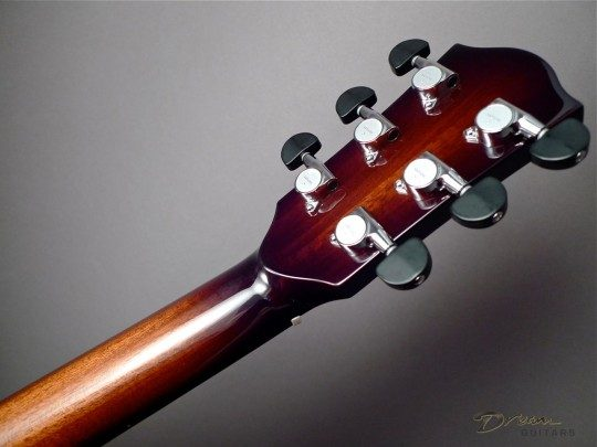 Gotoh SG381 Nickel With Ebony Buttons Tuners