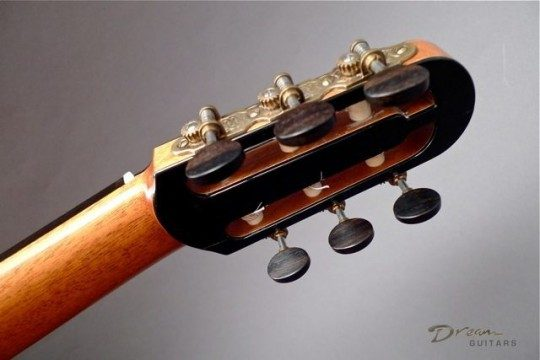 Gotoh Brass with Ebony Buttons Tuners