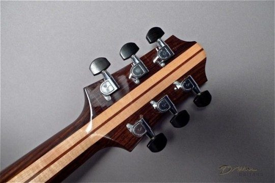 Schaller Chrome With Ebony Buttons Tuners